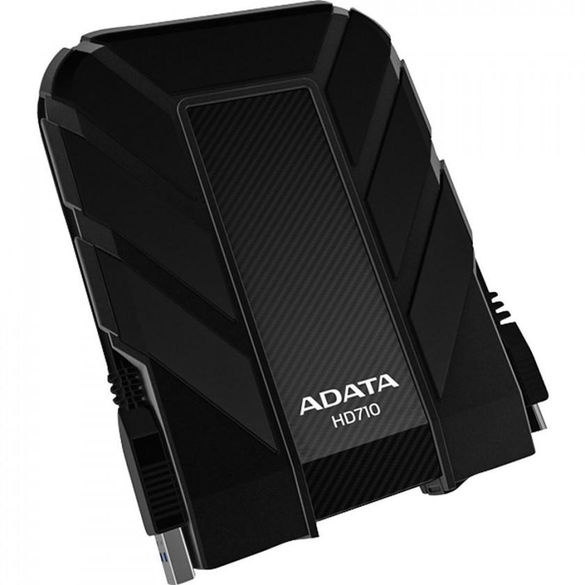 """Externý disk  A-DATAExt. HDD750GB2,5""""USB3.0DashDriveDurableHD710,černý"""