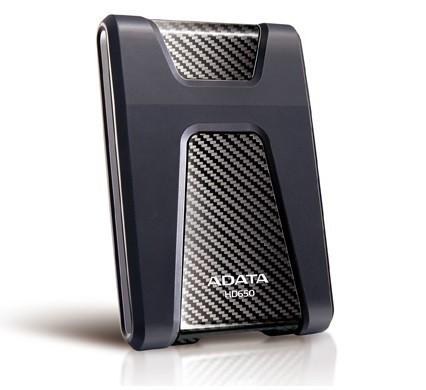 """Externý disk A-Data HD650 1TB/Externí/USB 3.0/2,5""""/Black (AHD650-1TU3-CBK)"""