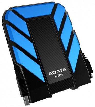 Externý disk A-data Hd710 - 1TB, modrá Ahd710-1tu3-CBL ROZBALENO