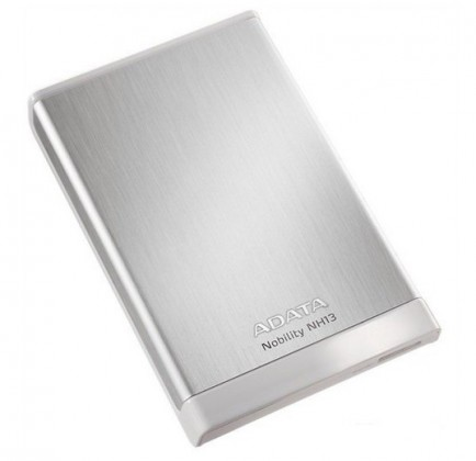 "Externý disk ADATA Externí HDD 1TB 2,5"" USB 3.0 Nobility NH13, strieborný"