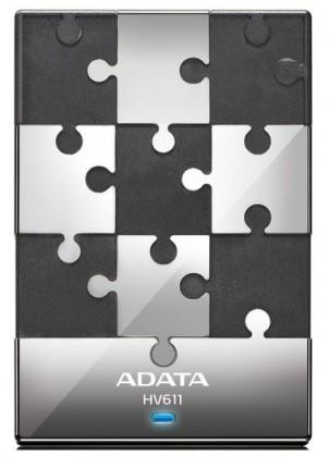 """Externý disk ADATA Externí HDD 500GB 2,5"""" USB 3.0 DashDrive HV611, černý"""
