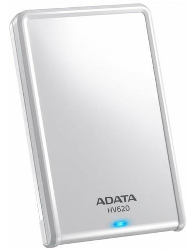 """Externý disk ADATA Externí HDD 500GB 2,5"""" USB 3.0 DashDrive HV620, bílý"""