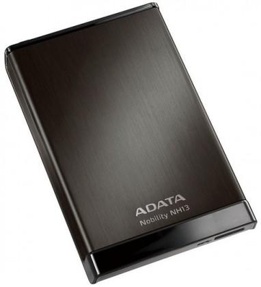 """Externý disk ADATA Externí HDD 500GB 2,5"""" USB 3.0 Nobility NH13, černý"""