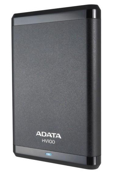 """Externý disk ADATA Externý HDD 1TB 2,5 """"USB 3.0 DashDrive HV100, G-sensor, čer"""