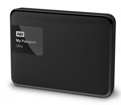 """Externý disk Ext. HDD 2.5"""" WD My Passport Ultra 1TB USB černý"""