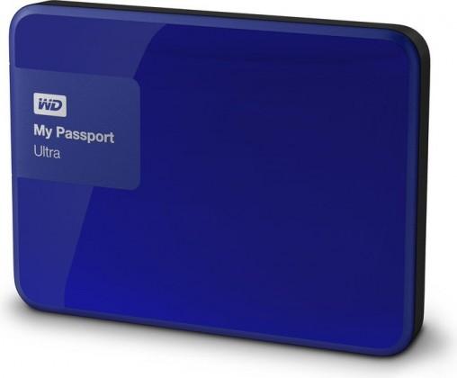 "Externý disk Ext. HDD 2.5"" WD My Passport Ultra 1TB USB modrý"