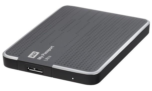 """Externý disk  Ext. HDD 2.5"""" WD My Passport Ultra 1TB USB titan."""