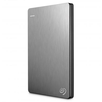 """Externý disk Seagate 500GB HDD SLIM Externí 2,5""""/ USB 3.0/ stříbrný"""