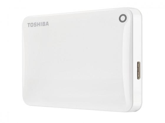 "Externý disk Toshiba HDD externí Canvio Connect II 2,5"" 1TB, USB 3.0, bílý"