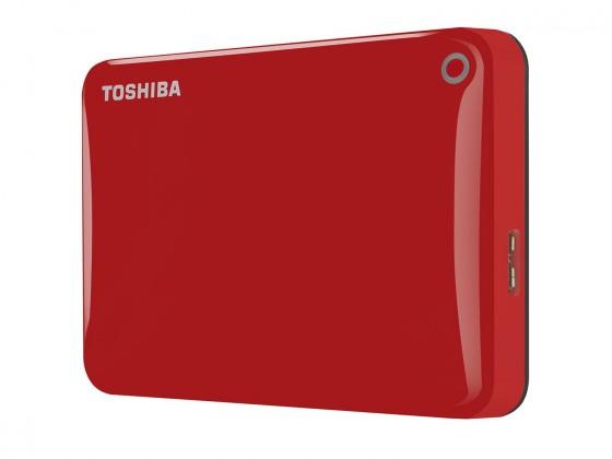 "Externý disk Toshiba HDD externí Canvio Connect II 2,5"" 500GB, USB 3.0, červen"