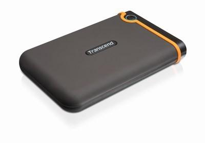 """Externý disk TRANSCEND externí HDD 2,5"""" USB 2.0 StoreJet 25M2, 1TB, Black (SAT"""