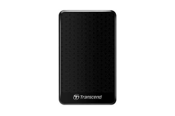 """Externý disk TRANSCEND externí HDD 2,5"""" USB 3.0 StoreJet 25A3, 2TB, Black (nár"""