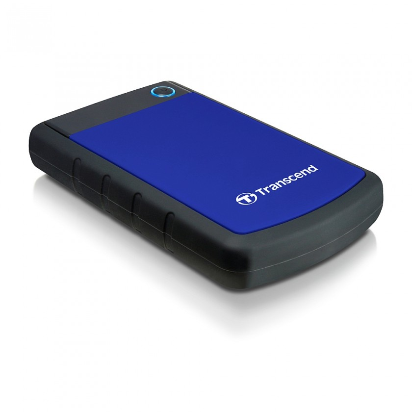 """Externý disk TRANSCEND externí HDD 2,5"""" USB 3.0 StoreJet 25H3B, 1TB, Blue (nár"""