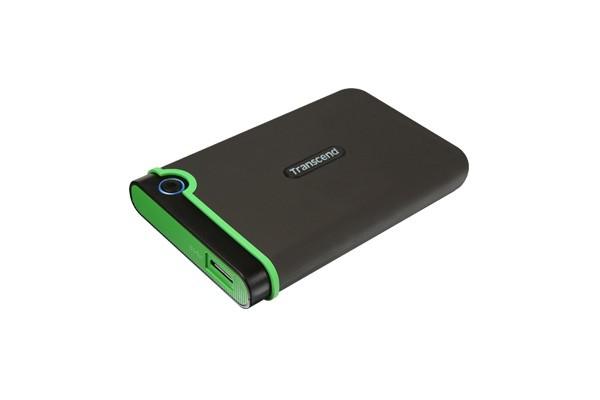 """Externý disk TRANSCEND externí HDD 2,5"""" USB 3.0 StoreJet 25M3, 2TB, Black (SAT"""
