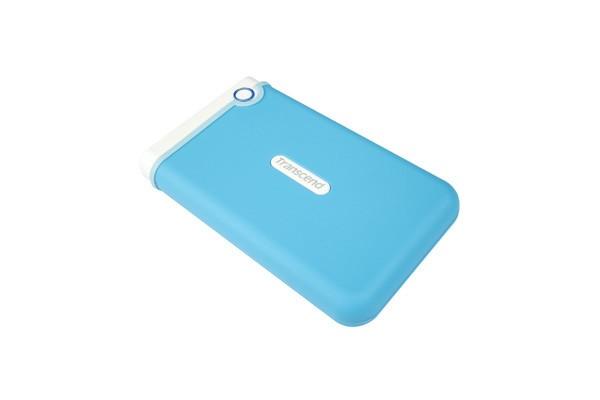 """Externý disk TRANSCEND externí HDD 2,5"""" USB 3.0 StoreJet 25M3B, 1TB, Blue (SAT"""