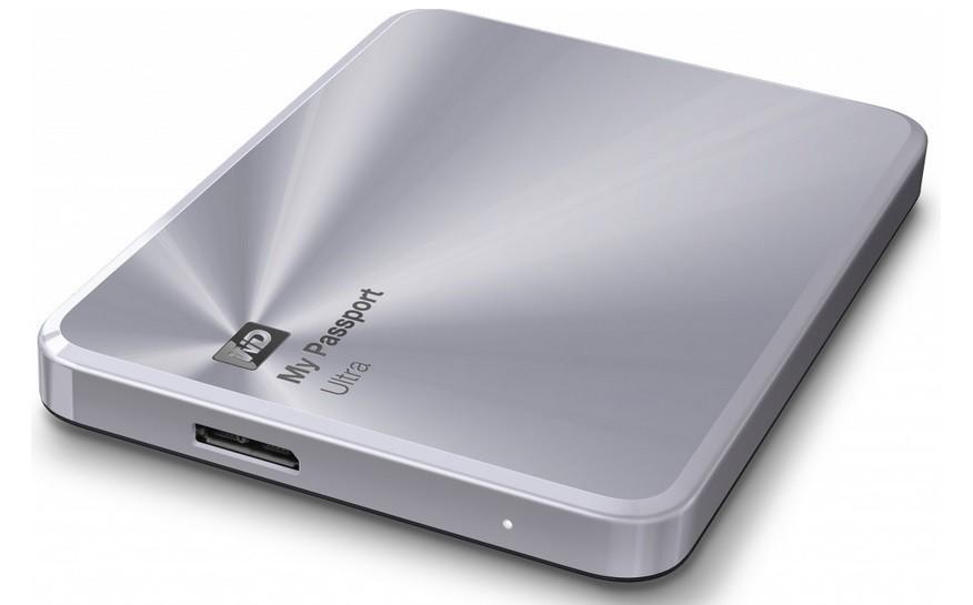 "Externý disk WD My Passport ULTRA METAL 1TB Ext. 2.5"" USB3.0, Silver"