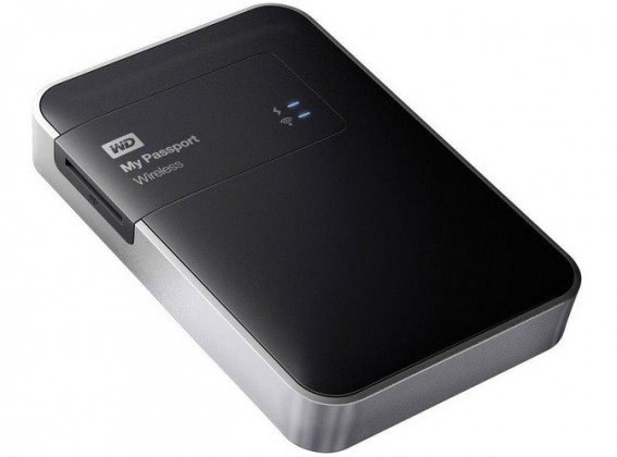 "Externý disk WD My Passport Wireless 1TB Ext. 2.5"" USB3.0, Black"