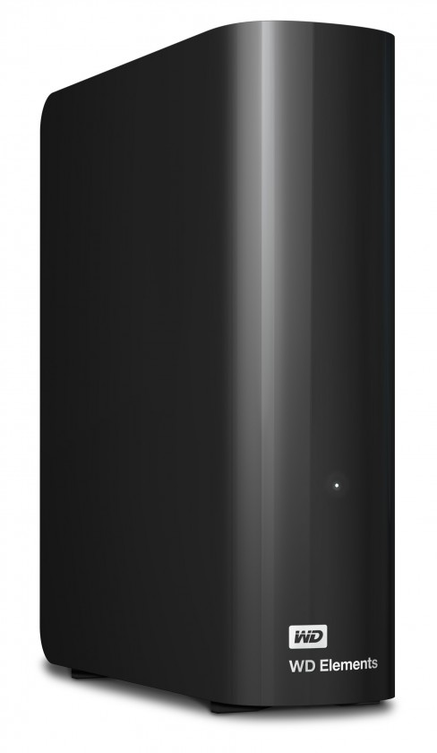 Externý disk Western Digital Elements Desktop 2TB (WDBWLG0020HBK-EESN) čierny