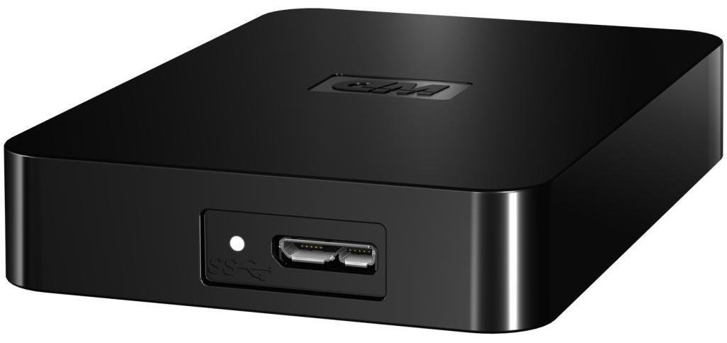 Externý disk  Western Digital Elements SE Portable 1,5TB, USB3.0, WDBBJH0015BBK