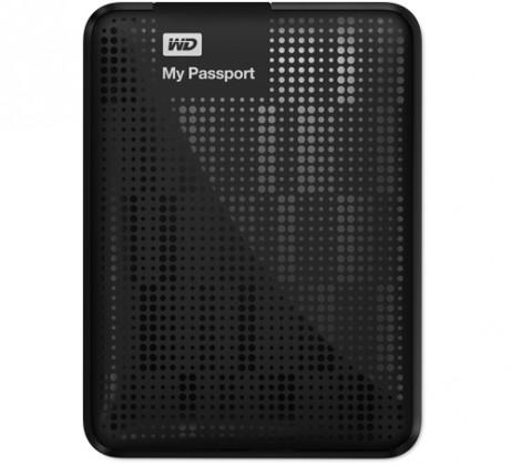 Externý disk  Western Digital My Passport 320GB černý (WDBKXH3200ABK-EESN)