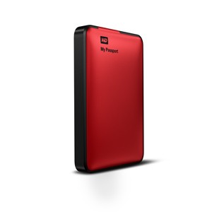 Externý disk  Western Digital My Passport 500GB červený (WDBKXH5000ARD-EESN)