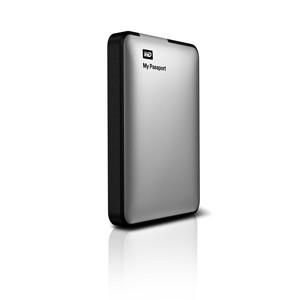 Externý disk  Western Digital My Passport 500GB stříbrný (WDBKXH5000ASL-EESN)