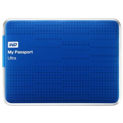 Externý disk Western Digital My Passport ULTRA 2TB modrá (WDBMWV0020BBL)
