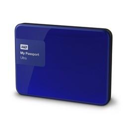 Externý disk Western Digital My Passport Ultra 3TB (WDBBKD0030BBL-EESN) modrý