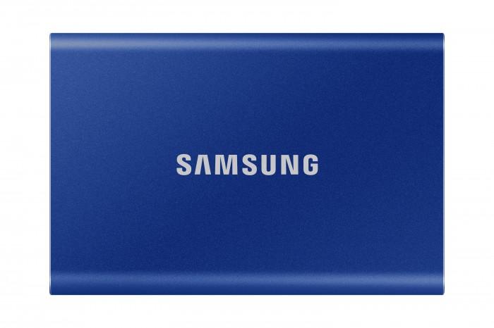 Externý SSD disk Samsung - 500 GB - modrý