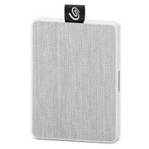 Externý SSD disk Seagate One Touch, 500 GB, biela