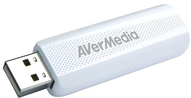Externý USB tuner AVerMedia TV TD310, DVB-T/T2/C/HEVC