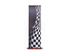 F1 carbon - Skriňa (F1 carbon, 1x dvere)