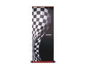 F1 carbon - Skriňa (F1 carbon, 2x dvere)