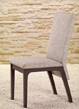 Fabrizio - Jedálenská stolička (wenge/sivá)