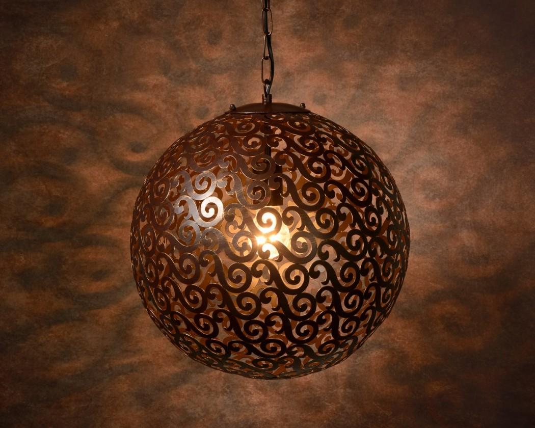 Fez - stropné osvetlenie, 100W, E27 (bronzová)
