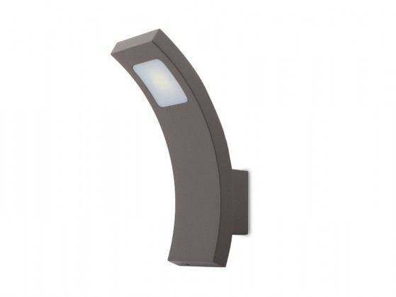 Fiera N - vonkajšie svietidlo, LED, 3W, 27x30x35 (hliník)