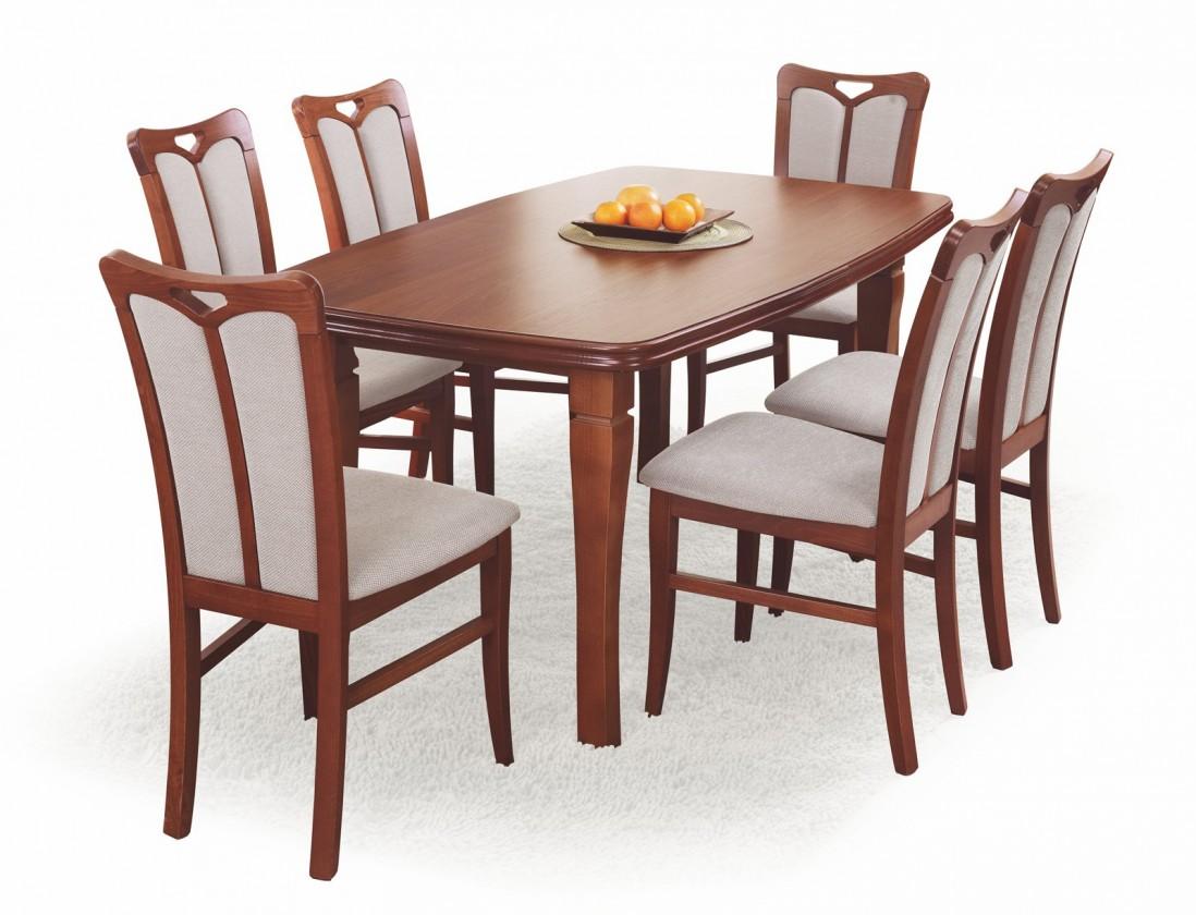 Filip - Jedálenský stôl 160-200x90 cm (čerešňa)