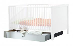 Filou - Úložný priestor pod detskú postieľku (alpská biela)