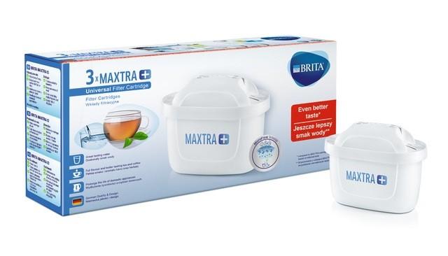 Filtračná kanvica, filter Náhradné filtre do filtračnej kanvice Brita Maxtra +, 3ks