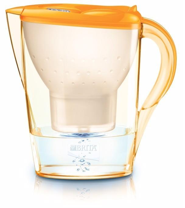 Filtračné kanvice, filtre Brita Marella Cool Memo Marigold Orange