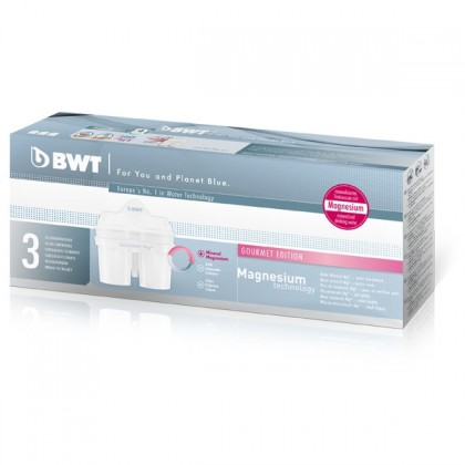Filtračné kanvice, filtre BWT náhradný filtere Mg2 + 3ks