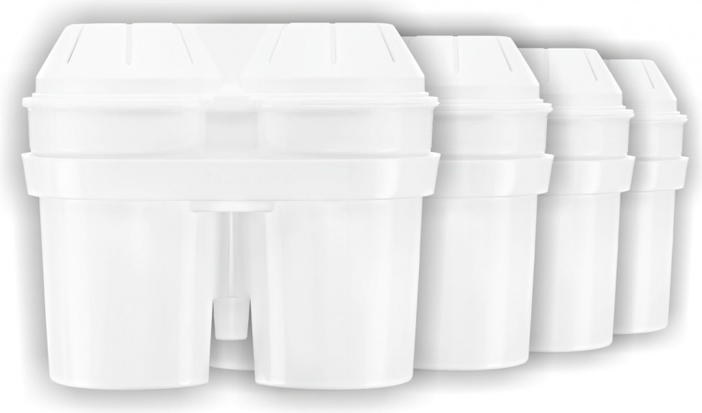 Filtračné kanvice, filtre Maxxo Náhradní vodní filtry 3+1