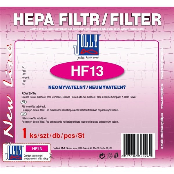 Filtre Hepa filter pre ROWENTA : Silence Force , X - TREA Power