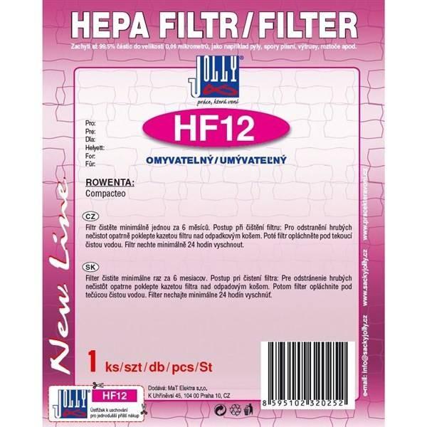 Filtre HEPA filter Rowenta HF12 Compacteo