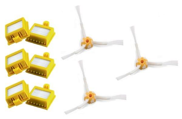 Filtre Náhradné HEPA filtre k vysávačom iRobot 700 Series, 3kusy