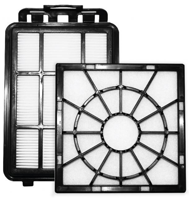 Filtre Náhradný filter Electrolux EF155 do vysávača EasyGo, 2ks