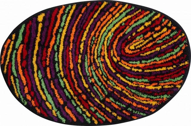 Fingerprint - Kúpeľňová predložka 70x110 cm (farebná)