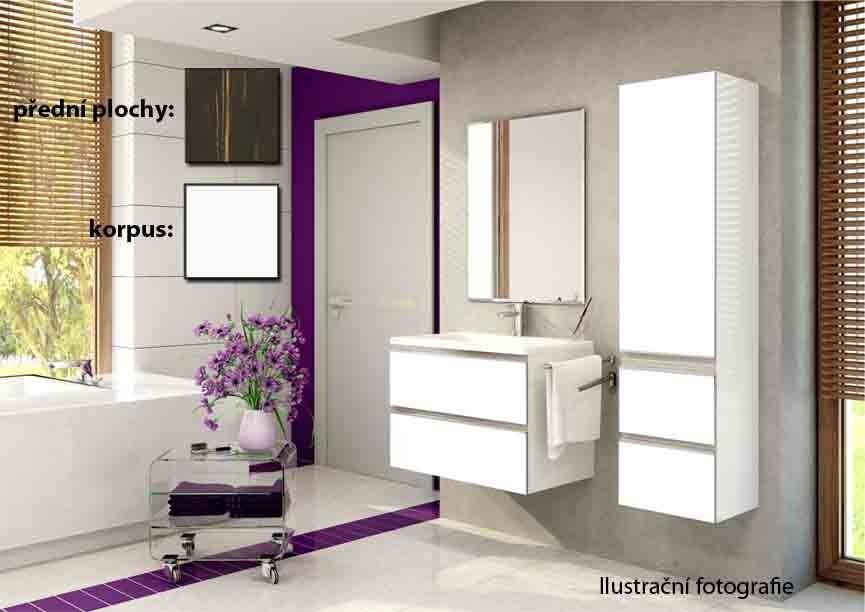 Firenze - Kúpelňová zostava (euroline,boky biele)