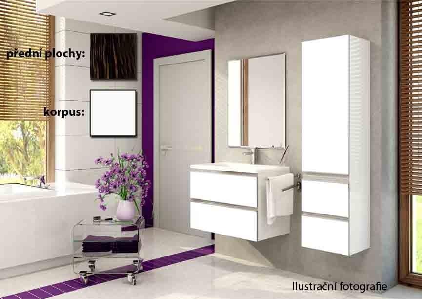 Firenze - Kúpelňová zostava (guyana,boky biele)