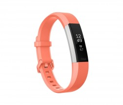 Fitbit Alta HR Coral (vel. L)   Fitness náramok